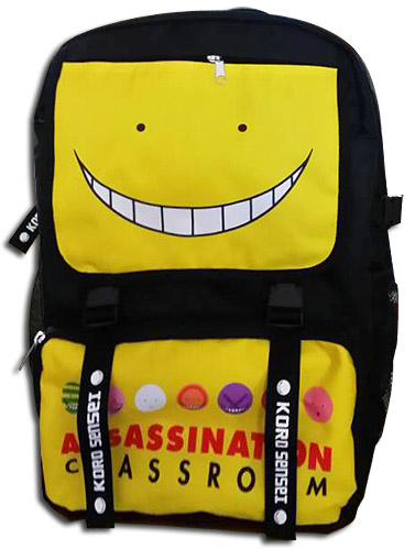 Assassination Classroom - Koro Backpack Bag, an officially licensed product in our Assassination Classroom Bags department.