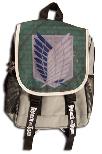 Attack On Titan - Scout Regiment Backpack Bag, an officially licensed product in our Attack On Titan Bags department.