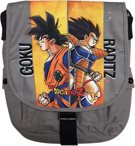 Dragon Ball Z - Goku V Raditz Messenger Bag, an officially licensed product in our Dragon Ball Z Bags department.