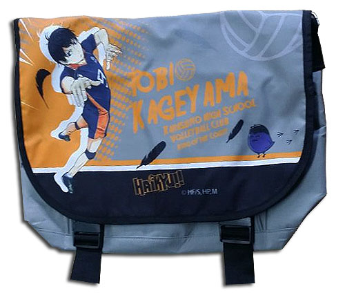 Haikyu!! - Tobio Messenger Bag, an officially licensed product in our Haikyu!! Bags department.