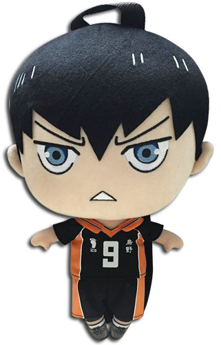 Haikyu!! - Kageyama Plush Bag 12.5'', an officially licensed product in our Haikyu!! Bags department.