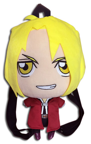 Fullmetal Alchemist Brotherhood - Ed Plush Bag 12.5'' officially licensed Fullmetal Alchemist Bags product at B.A. Toys.