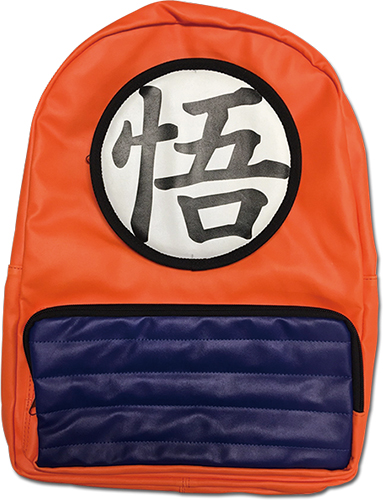 Dragon Ball Z - Goku Clothes Backpack officially licensed Dragon Ball Z Bags product at B.A. Toys.