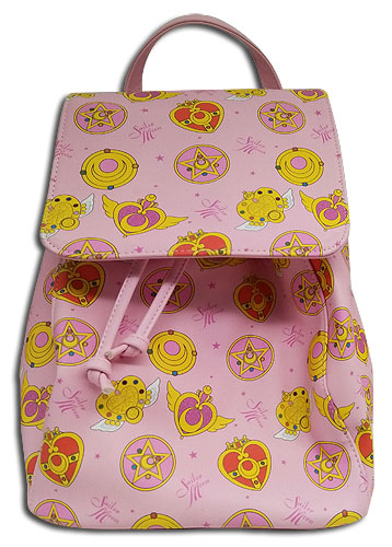 Sailor Moon - Sm Accessory Pink Backpack, an officially licensed product in our Sailor Moon Bags department.
