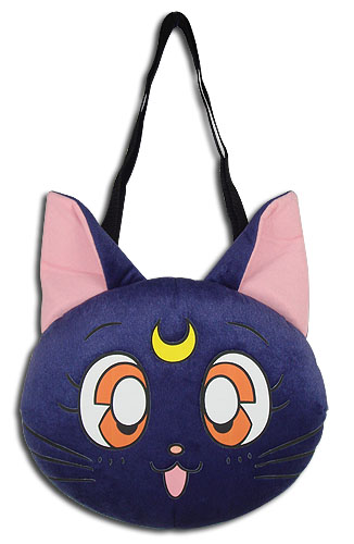 Sailor Moon - Luna Plush Cross Body Bag, an officially licensed product in our Sailor Moon Bags department.