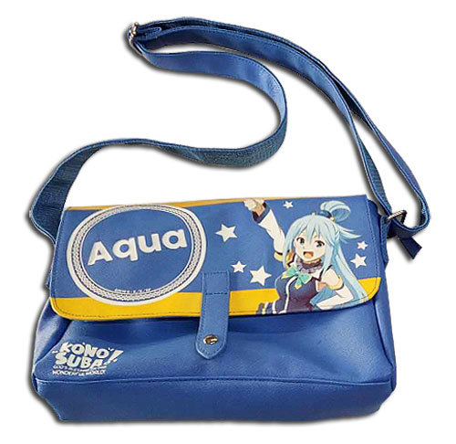 Konosuba - Aqua Messenger Bag, an officially licensed product in our Konosuba Bags department.