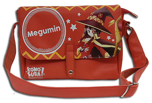 Konosuba - Megumin Messenger Bag, an officially licensed product in our Konosuba Bags department.