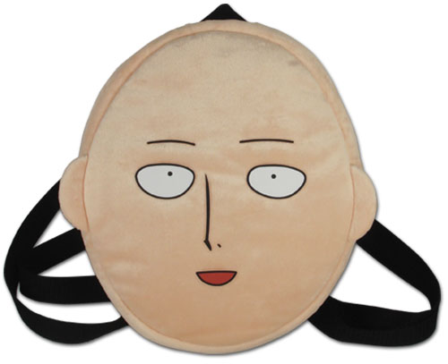 One Punch Man - Saitama Face Plush Bag, an officially licensed product in our One-Punch Man Bags department.