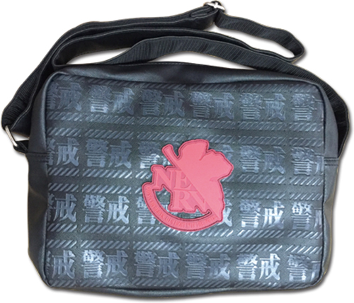 Evangelion - Nerv Messenger Bag officially licensed Evangelion Bags product at B.A. Toys.