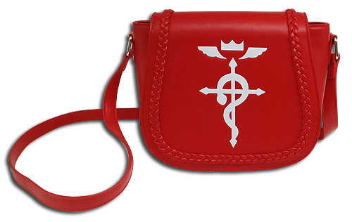 Fullmetal Alchemist - Edward Saddle Bag, an officially licensed product in our Fullmetal Alchemist Bags department.