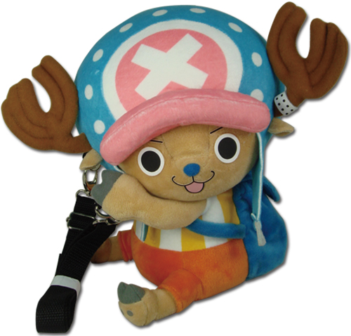 One Piece - Chopper Plush Shoulder Bag, an officially licensed product in our One Piece Bags department.