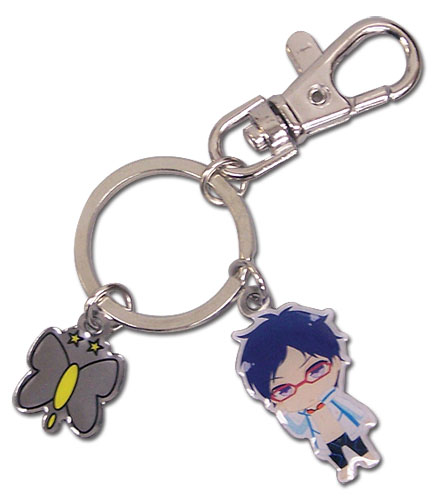 Free! - Sd Rei & Icon Metal Keychain, an officially licensed product in our Free! Key Chains department.