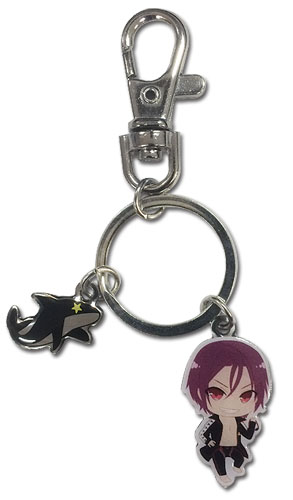 Free! - Sd Rin & Icon Metal Keychain, an officially licensed product in our Free! Key Chains department.