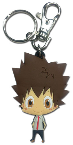 Reborn! - Tsuna Sd Pvc Keychain, an officially licensed product in our Reborn! Key Chains department.