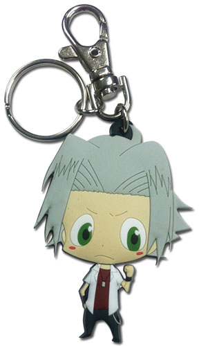Reborn! - Gokudera Sd Pvc Keychain, an officially licensed product in our Reborn! Key Chains department.
