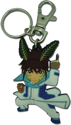 Terra Formars - Akari Sd Pvc Keychain, an officially licensed product in our Terra Formars Key Chains department.