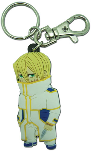 Terra Formars - Adolf Sd Pvc Keychain, an officially licensed product in our Terra Formars Key Chains department.