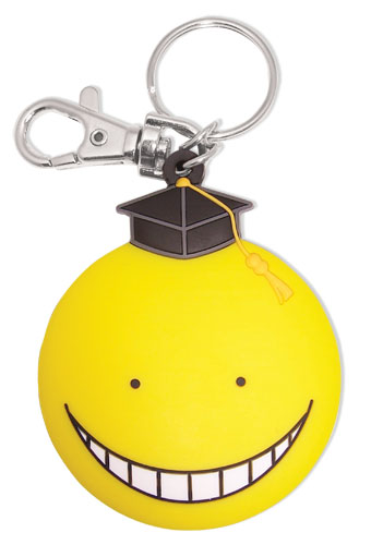 Assassination Classroom - Yellow Koro Sensei Pvc Keychain, an officially licensed product in our Assassination Classroom Key Chains department.