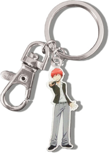 Assassination Classroom - Karma Metal Keychain, an officially licensed product in our Assassination Classroom Key Chains department.