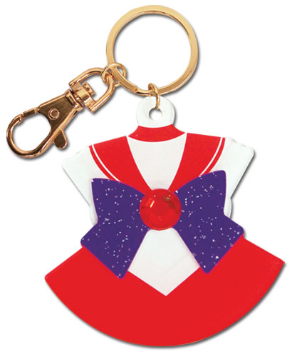 Sailor Moon - Sailor Mars Costume Acrylic Keychain, an officially licensed product in our Sailor Moon Key Chains department.