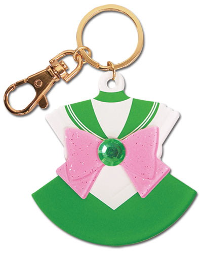 Sailor Moon - Sailor Jupiter Costume Acrylic Keychain, an officially licensed product in our Sailor Moon Key Chains department.