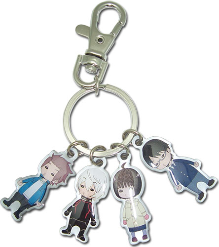World Trigger - Sd Group Metal Keychain officially licensed World Trigger Key Chains product at B.A. Toys.