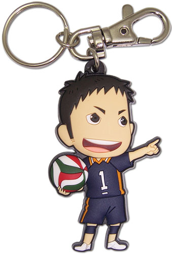 Haikyu!! - Sd Daichi Pvc Keychain, an officially licensed product in our Haikyu!! Key Chains department.