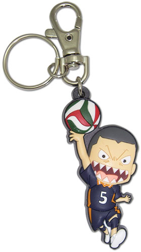 Haikyu!! - Sd Tanaka Pvc Keychain, an officially licensed product in our Haikyu!! Key Chains department.
