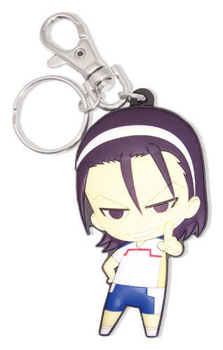 Yowamushi Pedal - Toudou Sd Pvc Keychain, an officially licensed product in our Yowamushi Pedal Key Chains department.