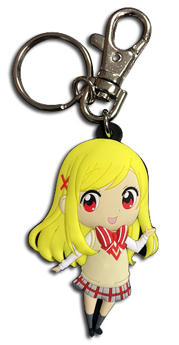 Yamada Kun - Urara Sd Pvc Keychain, an officially licensed product in our Yamada-Kun And The Seven Witches Key Chains department.