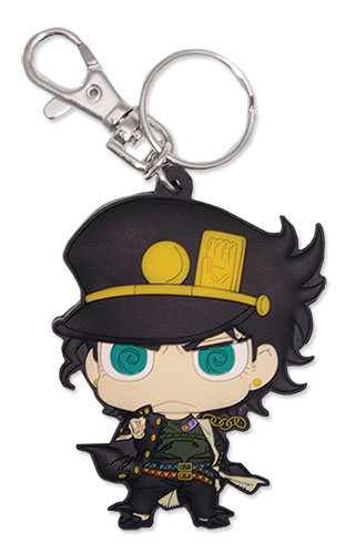 Jojo's Bizarre Adevnture - Jotaro Sd Pvc Keychain, an officially licensed product in our Jojo'S Bizarre Adventure Key Chains department.