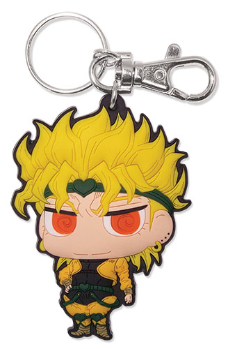Jojo - Dio Sd Pvc Keychain, an officially licensed product in our Jojo'S Bizarre Adventure Key Chains department.