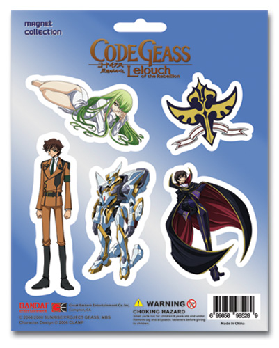 Code Geass Magnet Collection Set, an officially licensed product in our Code Geass Magnet department.