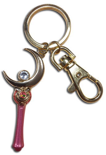 Sailor Moon - Moon Stick Keychain, an officially licensed product in our Sailor Moon Key Chains department.