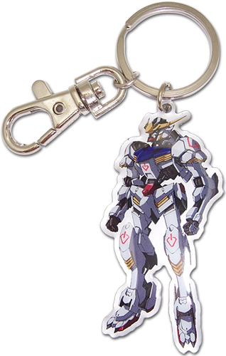 Gundam Iron-Blooded Orphans - Gundam Barbatos Metal Keychain, an officially licensed product in our Gundam Iron-Blooded Orphans Key Chains department.