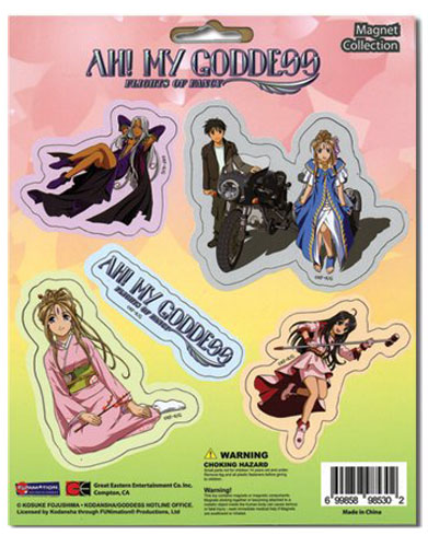 Ah! My Goddess Magnet Collection Set, an officially licensed Ah! My Goddess product at B.A. Toys.
