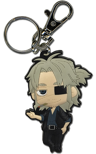 Gangsta - Sd Worick Pvc Keychain, an officially licensed product in our Gangsta Key Chains department.