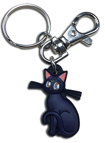 Sailor Moon - Luna Pvc Keychain, an officially licensed product in our Sailor Moon Key Chains department.