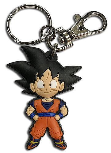 Dragon Ball Z - Sd Goku Pvc Keychain, an officially licensed product in our Dragon Ball Z Key Chains department.