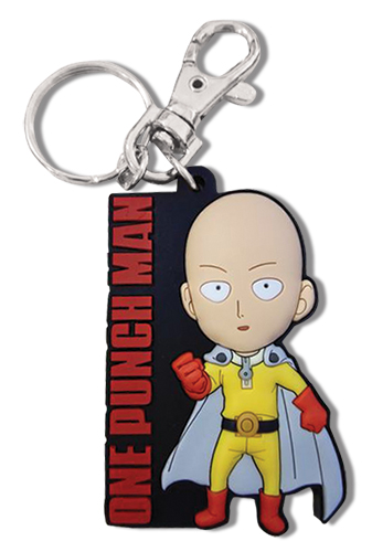 One Punch Man - Sd Stitama Pvc Keychain, an officially licensed product in our One-Punch Man Key Chains department.