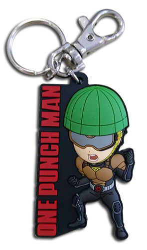 One Punch Man - Sd Mumen Rider Pvc Keychain, an officially licensed product in our One-Punch Man Key Chains department.