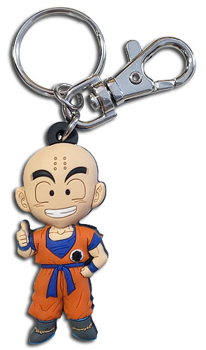 Dragon Ball Z - Sd Krillin Pvc Keychain, an officially licensed product in our Dragon Ball Z Key Chains department.