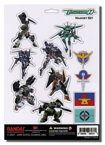 Gundam 00 Magnet Set, an officially licensed product in our Gundam 00 Magnet department.