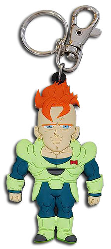 Dragon Ball Z - Sd Android 16 Pvc Keychain, an officially licensed product in our Dragon Ball Z Key Chains department.