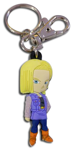 Dragon Ball Z - Sd Android 18 Pvc Keychain, an officially licensed product in our Dragon Ball Z Key Chains department.