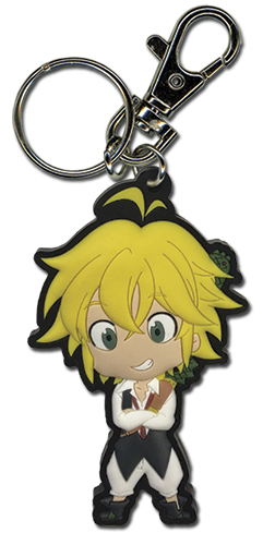 The Seven Deadly Sins - Meliodas Pvc Keychain, an officially licensed product in our The Seven Deadly Sins Key Chains department.