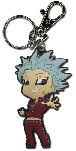 The Seven Deadly Sins - Ban Pvc Keychain, an officially licensed product in our The Seven Deadly Sins Key Chains department.