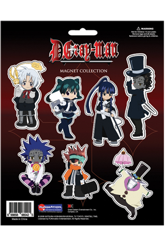 D Gray Man Magnet Collection, an officially licensed product in our D.Gray-Man Magnet department.