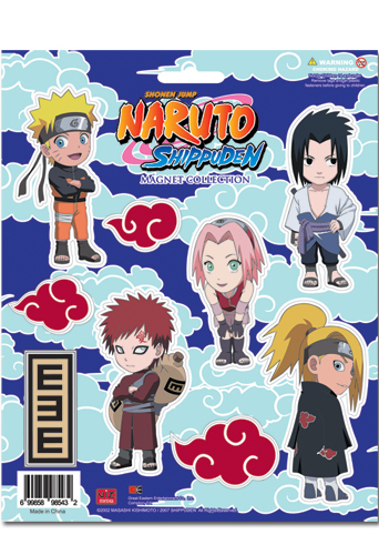 Naruto Shippuden Magnet Collection, an officially licensed product in our Naruto Shippuden Magnet department.