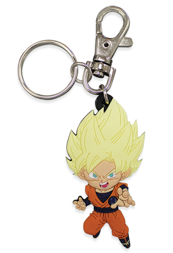 Dragon Ball Super - Sd Ssgoku 01 Pvc Keychain, an officially licensed product in our Dragon Ball Super Key Chains department.